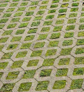 Adoquines materialterna for Bloques de cemento para pisos de jardin